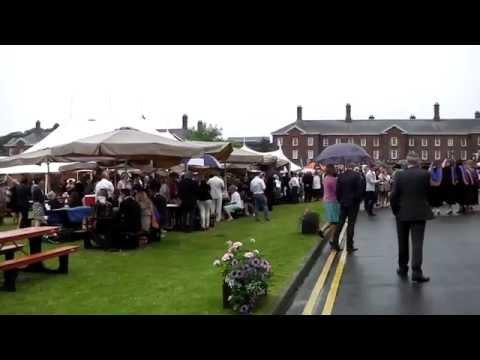 Leeds Beckett University Graduation Day 22 July 2015