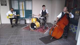 Instrumental Jazz Trio | Drums, Upright Bass, Guitar
