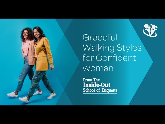 Graceful Walking Styles for Confident Woman