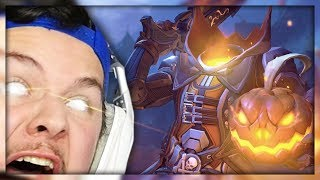 TRYING NOT TO RAGE! Opening Overwatch Halloween Loot Boxes