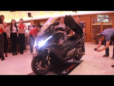 Kymco Philippines Inc Launching Of New Motorcycle