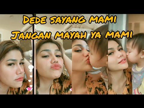 DEDE SAYANG MAMI,MAMI JNGAN MAYAH YAA KISS MAMI LIVE IG SIANG 7 DES 2020
