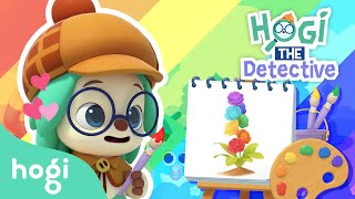 Ep6. Magic Rainbow Flower | Pinkfong & Hogi | Hogi, THE Detective | Kids' Stories | Play with Hogi