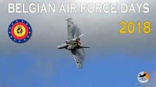 Showreport Belgian Air Force Days | Kleine Brogel AB