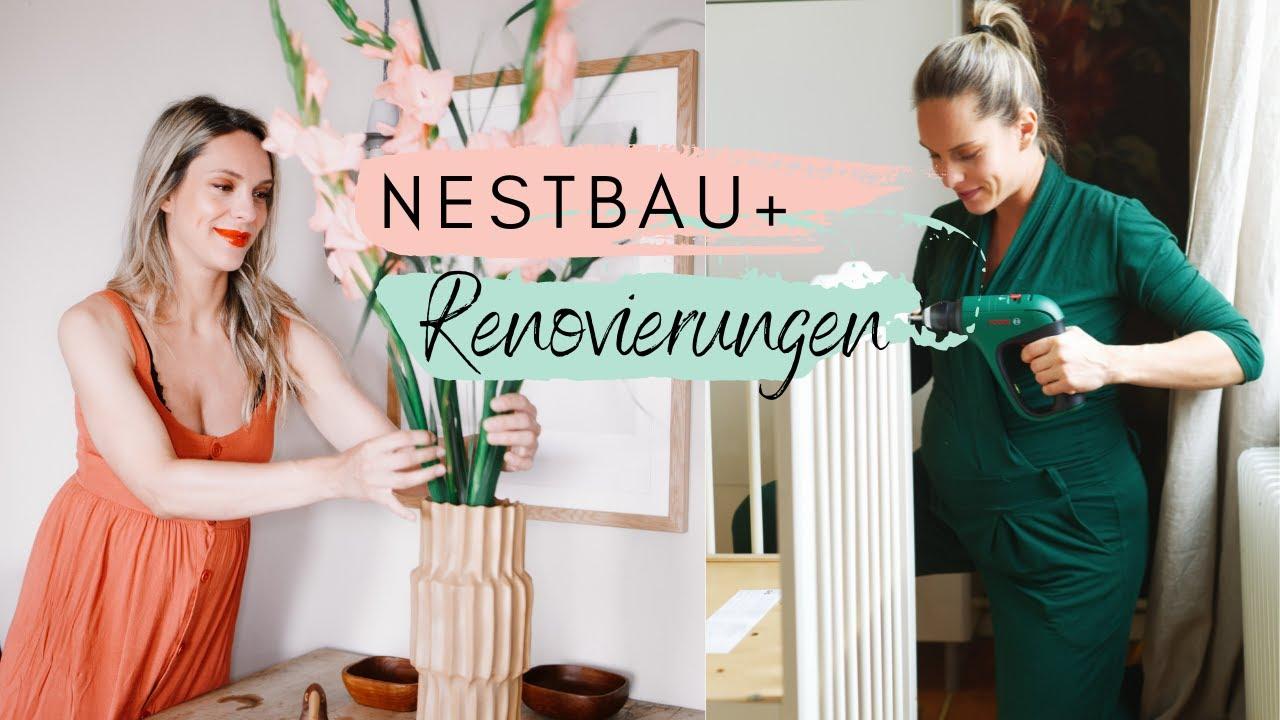 VLOG   NESTBAU   Letzte Renovierungen und Küchen-Fail!   Homestory Vorbereitung   Jelena Weber