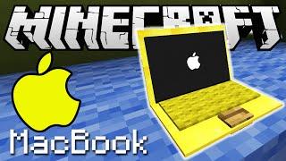 КАК СДЕЛАТЬ ЗОЛОТОЙ МАКБУК ПРО В MINECRAFT БЕЗ МОДОВ | Apple MacBook PRO only one command