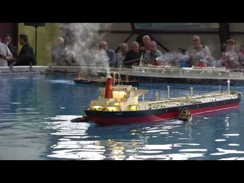 Lucina supertanker RC model - Salon de La Seyne 2013