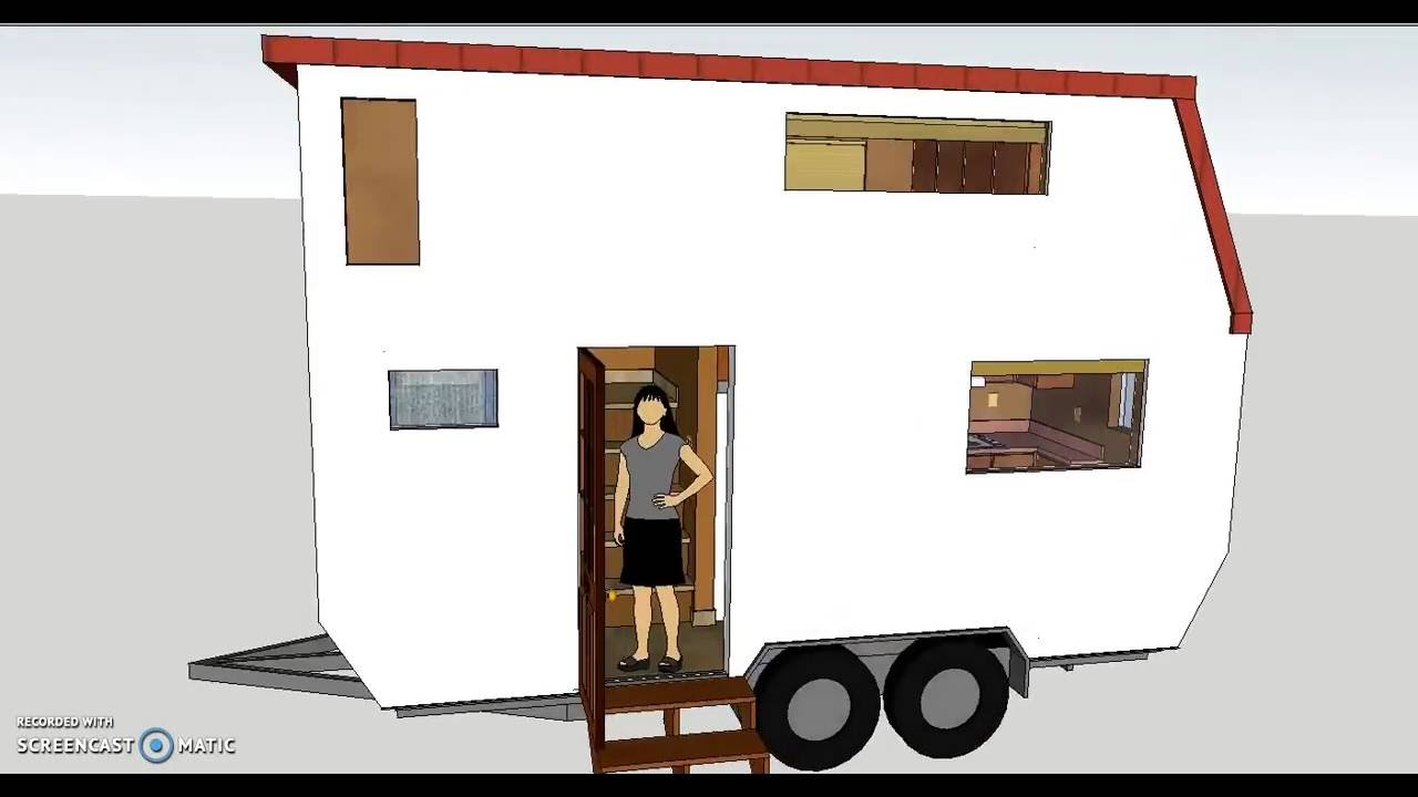 Small Outside, BiG inside;The Retreat 16, Tiny House on wheels ...