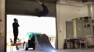 INSTABLAST! - Fakie Five O Fakie BigFlip Out!! Gnarly Death Box Session! Cow Suit Ollie!
