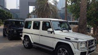 G63 AMG 3x Royal - Sheikh Mohammed bin Rashid Al Maktoum - No.1 & No.5 & No.11 سيارة حاكم دبي