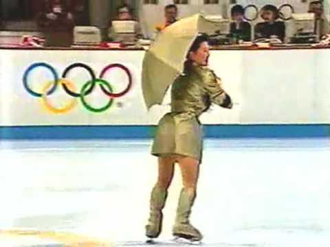Midori Ito 1992 Albertville Olympics Exhibition (USTV)
