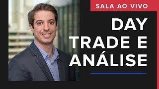 DAY TRADE E ANÁLISE - SALA AO VIVO | COM LUCAS CLARO | 17/09/2019