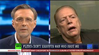 Larry Flynt: Don't execute the man who paralyzed me!