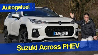 New Suzuki Across REVIEW - based on Toyota RAV4 PHEV!