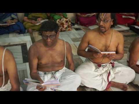 Pillai Andhadi Recitation Sri desika Prabandha Parayanam Mumbai Sri Krishna Sabha