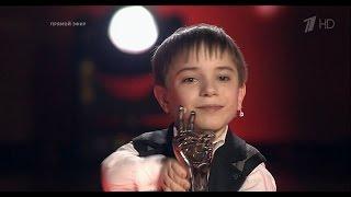 Данил Плужников Награждение победителя | Голос Дети 3 2016 Финал
