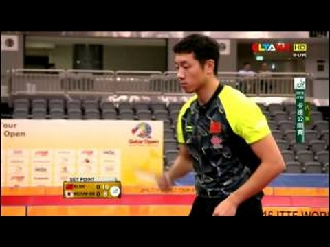 2016 Qatar Open MS-QF Xu Xin - Jun Mizutani (full match|short form in HD)