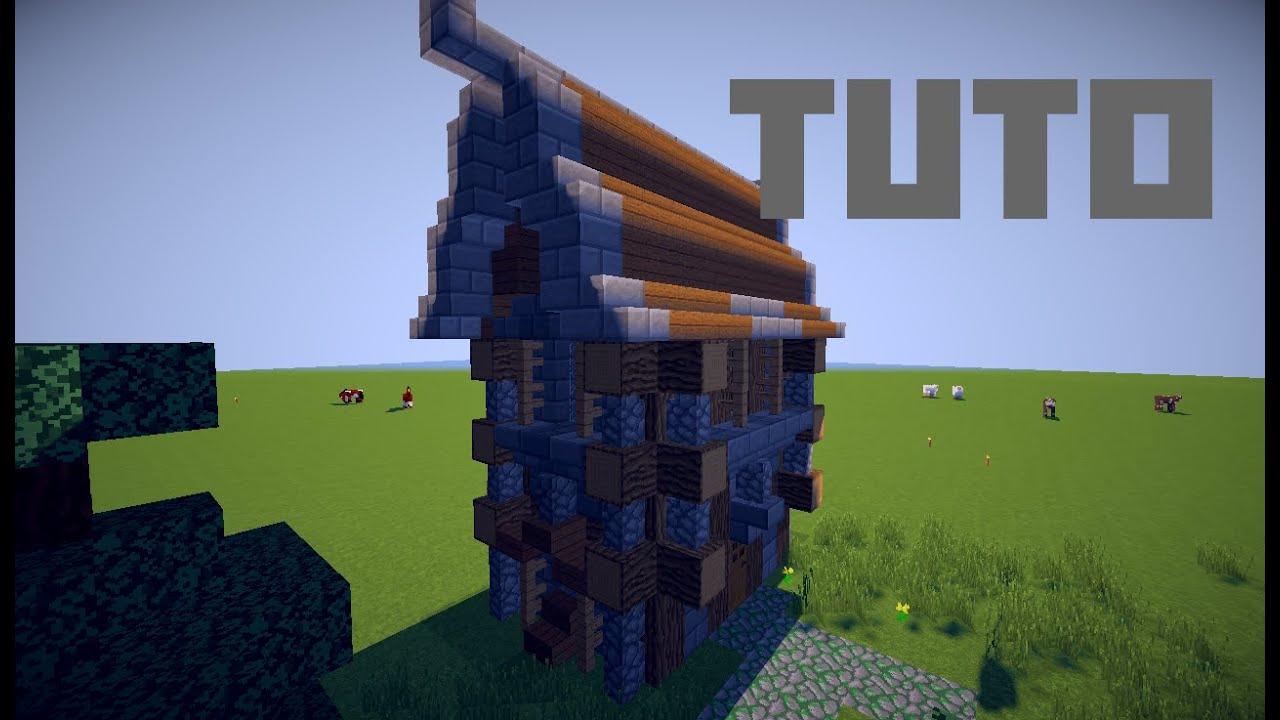 Minecraft Construire Une Maison Médiévale Fantastique