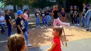 #ВЛОГ/Луганск День города ///#ХИП-ХОП танцы#Гуляем по центральной площади___Smile Emojis / Видео