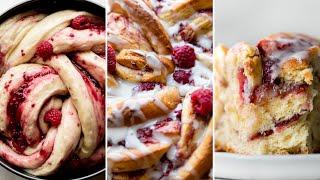 Raspberry Danish Twist Bread  Sally&#39s Baking Addiction