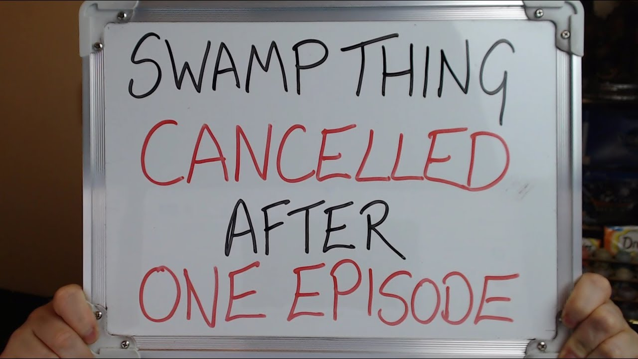'Swamp Thing' gets canceled after airing a single episode