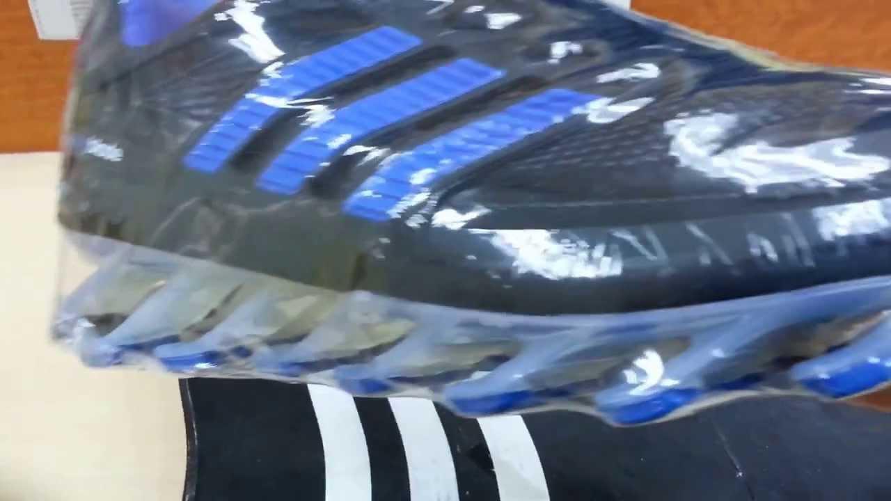 375844b963da Unboxing Adidas Springblade Black Dark Blue - YouTube
