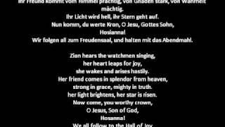 Wachet auf, ruft uns die Stimme, BuxWV 101 - Dietrich Buxtehude (1637--1707)