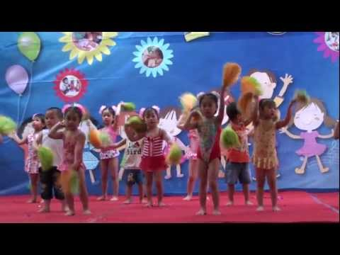 Aerobic: Bé yêu biển lắm - Mầm non Việt Pháp
