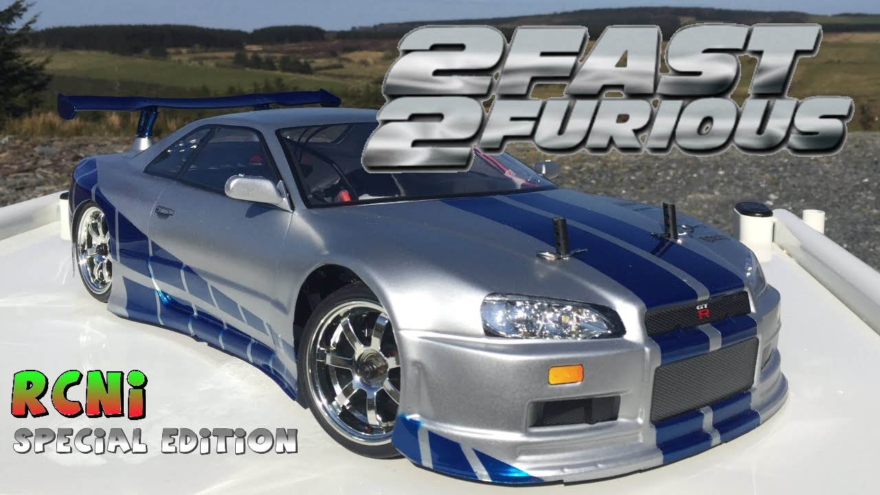 Fast And Furious 6 Cars Wallpapers Hd Rc Nissan Skyline Gtr R34 Rcni Youtube