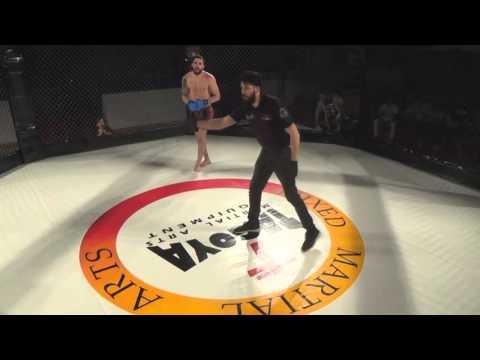 Zaragoza Fight Night - MMA Profesional - César Alonso vs Manuel Bernal 2 (highlights)