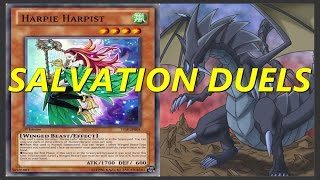 Yugioh Salvation Duels - Harpie Lady and The Fang of Critias