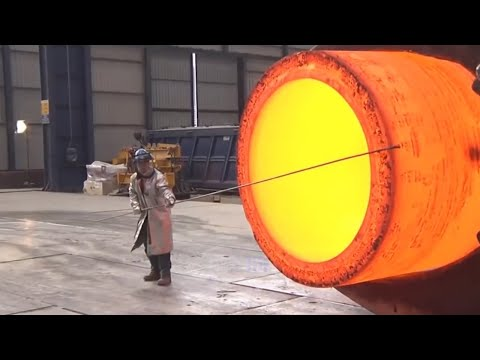 Extreme Dangerous Biggest Heavy Duty Hammer Forging Factory,
