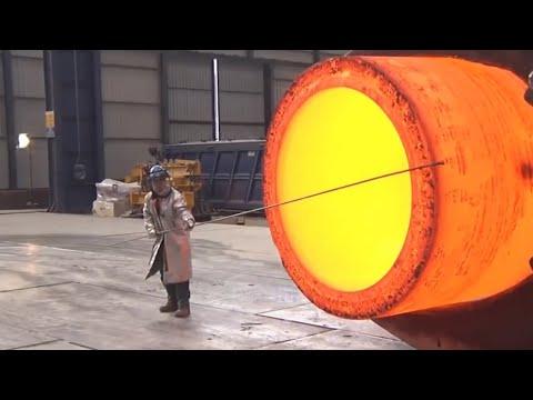Extreme Dangerous Biggest Heavy Duty Hammer Forging Factory,