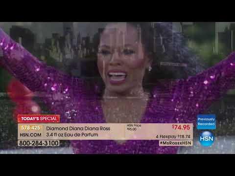 HSN | Diana Ross Fragrance Premiere 12.05.2017 - 11 AM