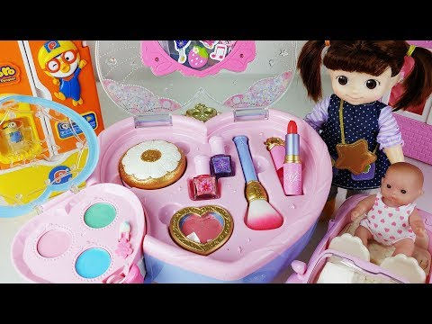 Baby Doll beauty bag toys and closet play house - 토이몽