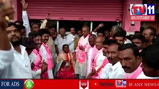 ZPTC YELLAMMA SWEARING CEREMONY IN KODANGAL , VIKARABAD DIST | Tv11 News | 23-06-18