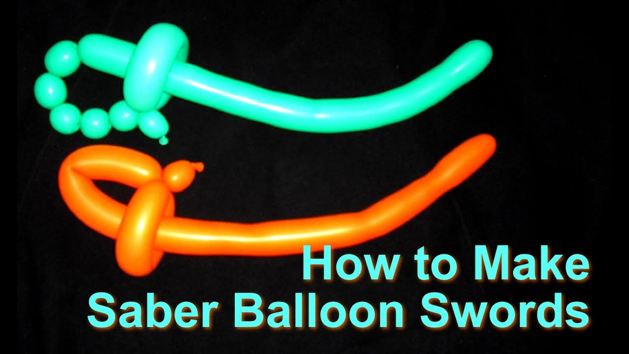 How To Make Saber Balloon Swords  Youtube. Furniture Row Desks. Desk In Living Room Ideas. Stand Up Desk Top. Screw In Table Legs. Picnic Table Covers. Home Desk. Corner Sewing Table. Mission Style End Table