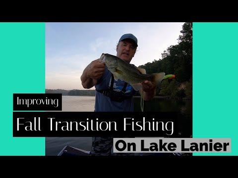 Improving Fall Transition Fishing On Lake Lanier