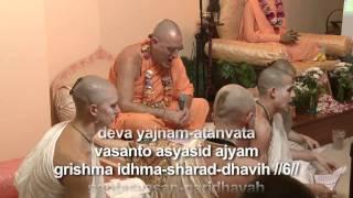 2009.06.24. Purusha Sukta H.H. Bhaktividya Purna Swami - Riga, LATVIA