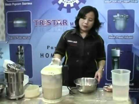 Cara Membuat Susu Kedelai - Saridele dengan Mesin Langsung ...