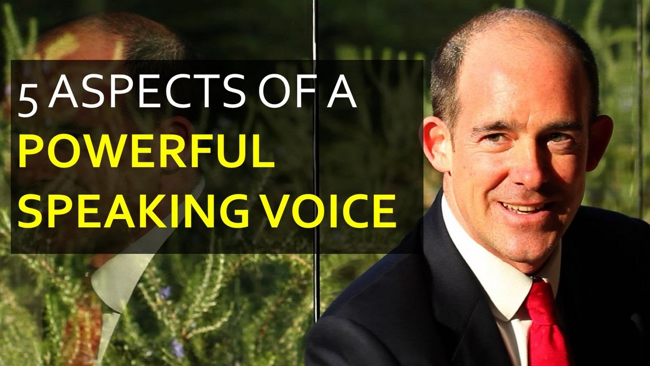 improve my speaking voice