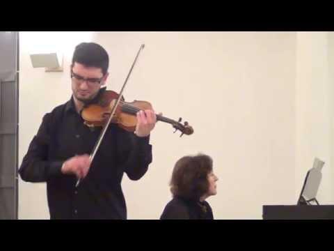 Bartok: Rhapsody nº 1 - Pedro Barreto