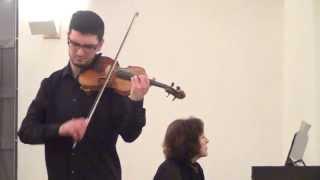 Bartók: Rhapsody nº 1 - Pedro Barreto