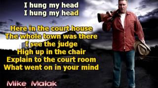 Mike Malak & The Fakers  - I Hung My Head  (Sting, cover, lyrics)