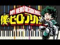 My Hero Academia - The day opening using only piano