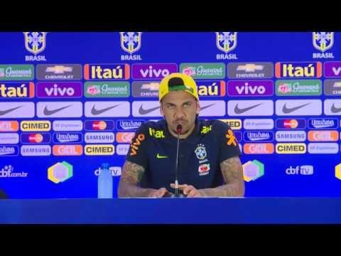 Seleção Brasileira: Coletiva Tite e Daniel Alves - 05/09/2016