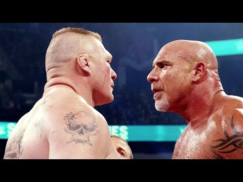 Thumbnail: Road to WrestleMania 33: Goldberg vs. Brock Lesnar