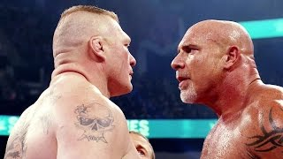 Road to WrestleMania 33: Goldberg vs. Brock Lesnar