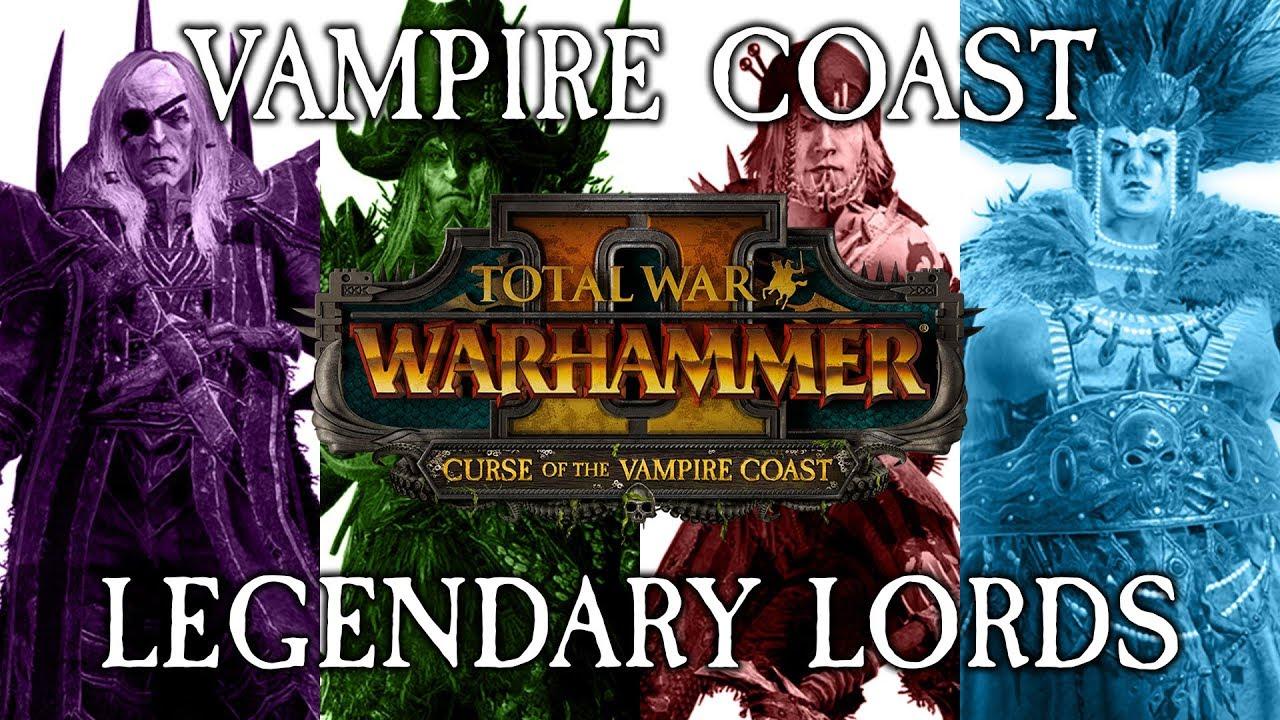 best vampire coast lord