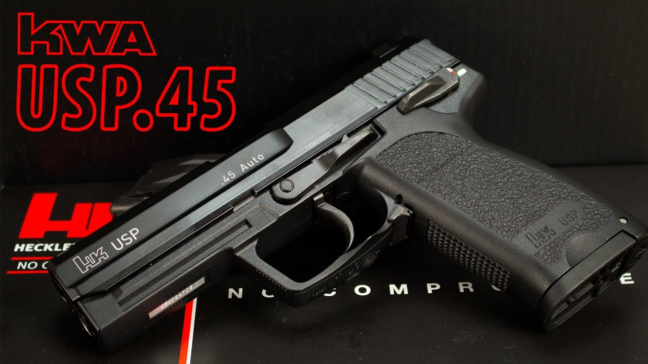 [Review] KWA/Umarex HK USP.45 GBB 6mm BB Airsoft (Heckler ...